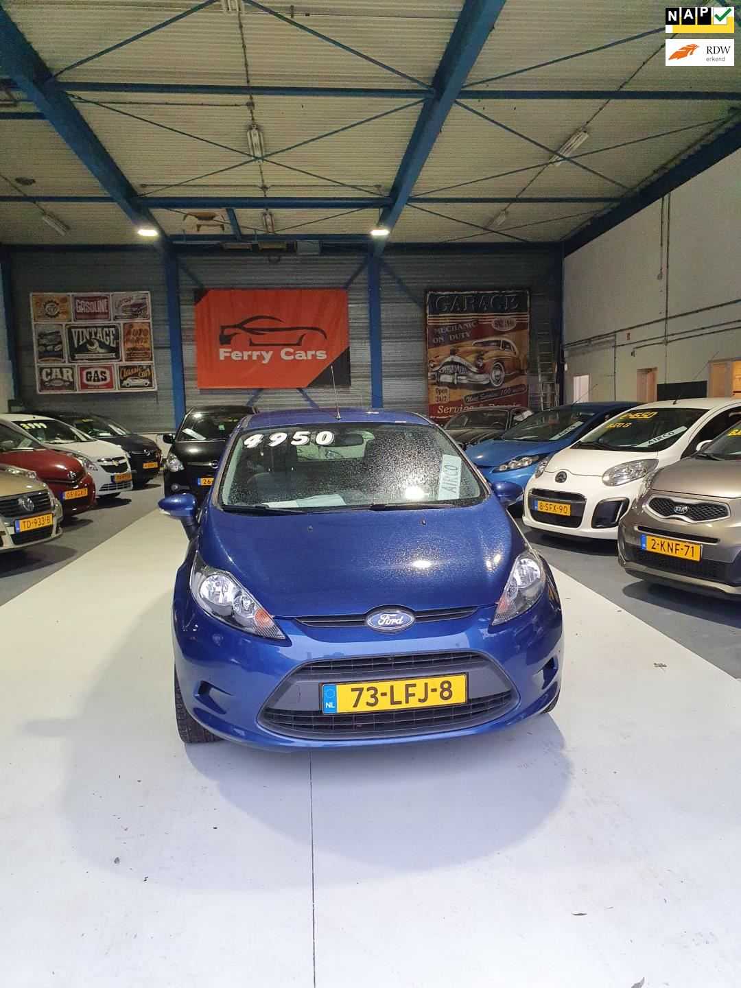 Ford Fiesta occasion - Ferry Cars