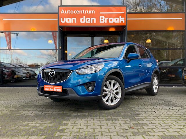 "Mazda CX-5 2.0 GT-M Automaat Navi Leder Achter Uit Camera Climate Cruise Ctr Stoelverwarming Pdc 19"" Full Options"
