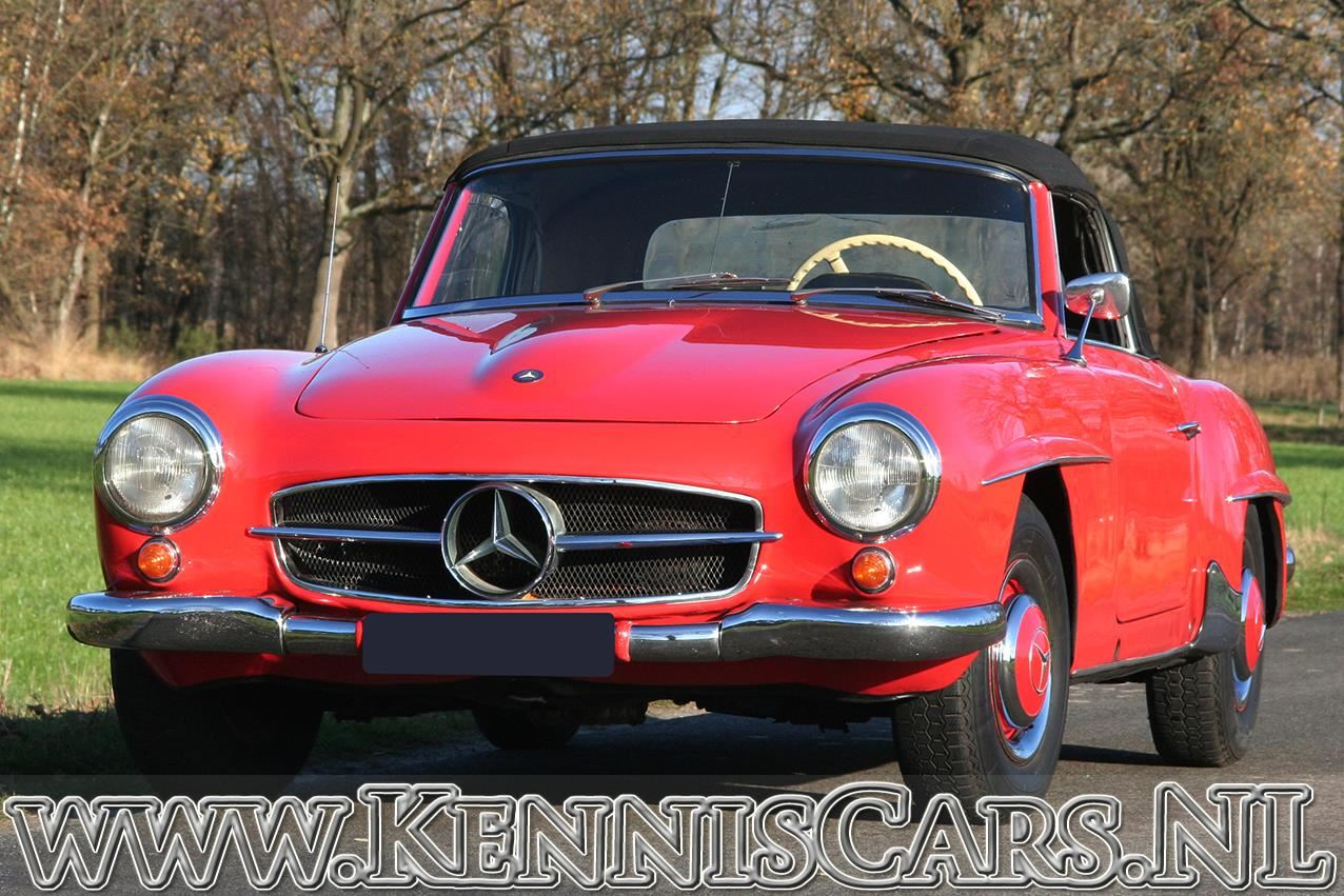 Mercedes-Benz 1958 190 SL Roadster occasion - KennisCars.nl