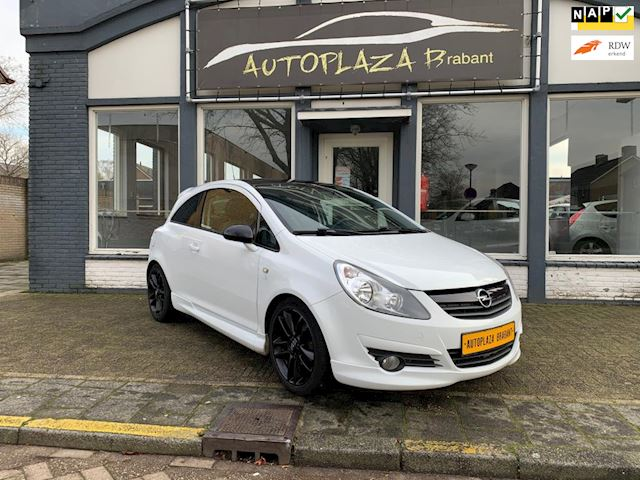 Opel Corsa 1.4-16V LIMITED EDITION/ AIRCO/ LEER/ AUX/ 17 INCH VELGEN/ ISOFIX