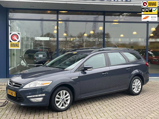 Ford Mondeo Wagon 1.6 Business NL-Auto NAP Clima Cruise Navi Stoelverw. Parksens. Lm-Velgen!