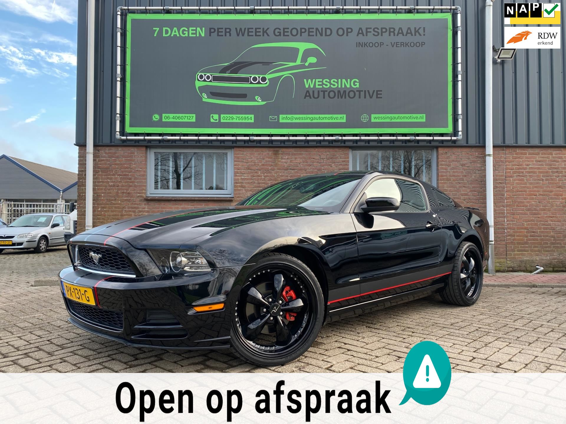 Ford USA Mustang occasion - Wessing Automotive