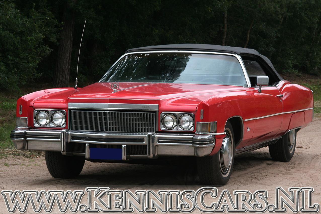 Cadillac 1972 Eldorado Convertible occasion - KennisCars.nl