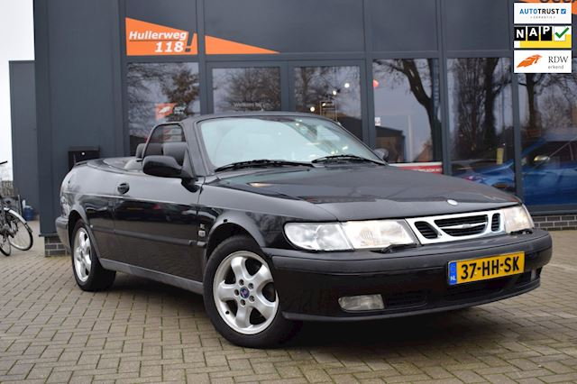 Saab 9-3 Cabrio 2.0t S /airco/stoelverw/pds/turbo/afneembare trekhaak