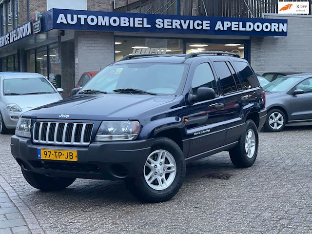 Jeep Grand Cherokee 4.0i Limited 184PK*AUTOMAAT*AIRCO*CRUISECTR.*STUURBEKR.*LM.VELGEN