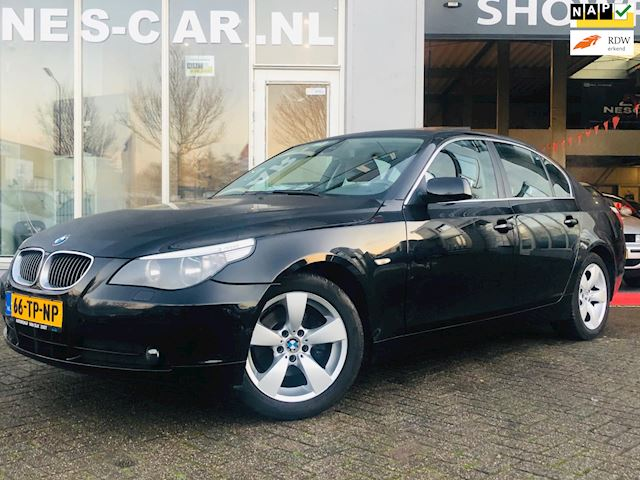 BMW 5-serie 523i Business Line 6-BAK, Schuifdak, Vol Leer !! Dealer Onderhouden!!