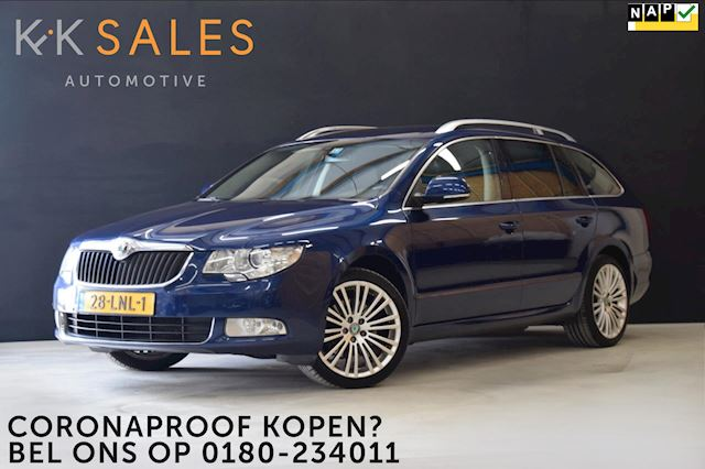 Skoda Superb Combi 1.8 TSI Ambition Business Line *WEEKAANBIEDING* [NAVI, SOUND, CRUISE, CLIMATE, 18 INCH, TREKHAAK, NIEUWSTAAT]