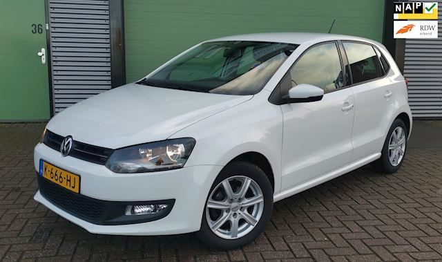 Volkswagen Polo 1.2 TSI 2011 105PK Wit 5D CLIMA*PDC*NWE APK