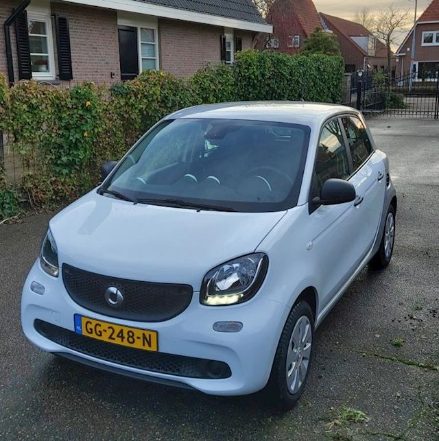 Smart Forfour 1.0 Pure Met airco