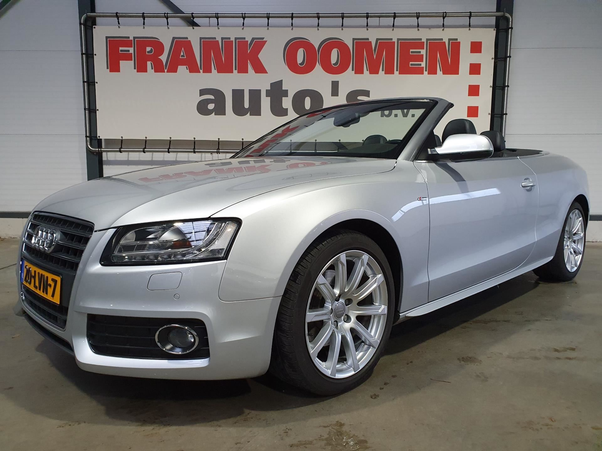 Audi A5 Cabriolet occasion - Frank Oomen Auto's B.V.