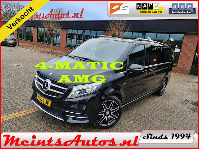 Mercedes-Benz V-klasse 250d 4-MATIC AMG Extra Lang DC Avantgarde Edition BURMESTER, 360 CAMERA, ADAPT CRUISE, FULL OPIE !!!