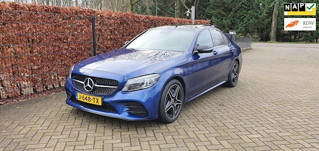 Mercedes-Benz C-klasse 160 Aut9 Premium Plus AMG Night Pakket