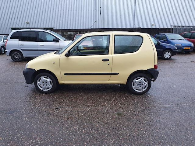 Fiat Seicento 1.1 Sporting, lage kilometerstand