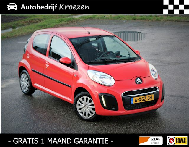 Citroen C1 1.0 Collection * Airco * 5 Deurs * Led verlichting *