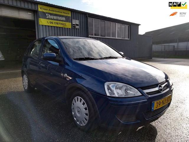 Opel Corsa 1.2-16V Enjoy Automaat ! Goed onderhouden ! Airco/Trekhaak ! APK tot 11-2021 !
