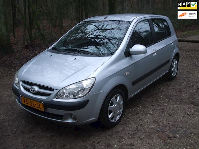 Hyundai Getz occasion - G. Hubers Auto's