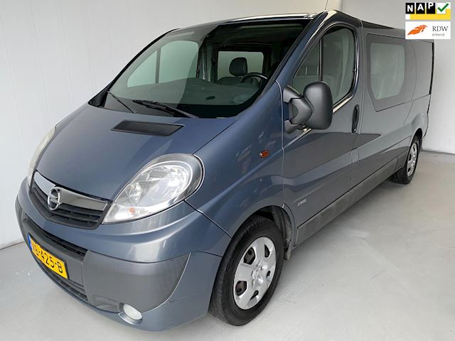 Opel Vivaro 2.0 CDTI L2H1 Dubbel Cabine Navi Airco