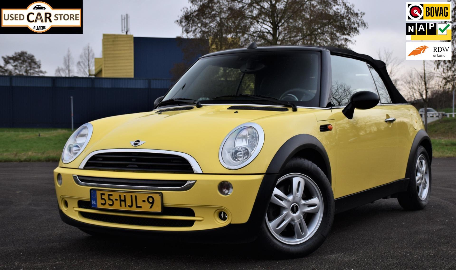 Mini Mini Cabrio occasion - Used Car Store Almere
