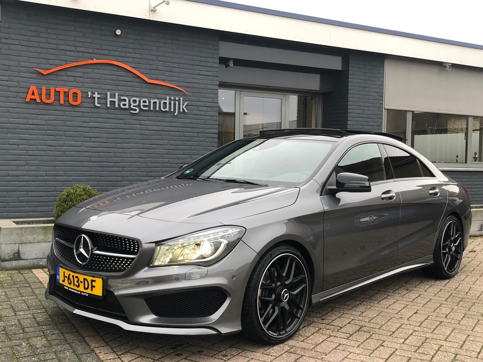 Mercedes-Benz CLA-klasse occasion - Auto 't Hagendijk