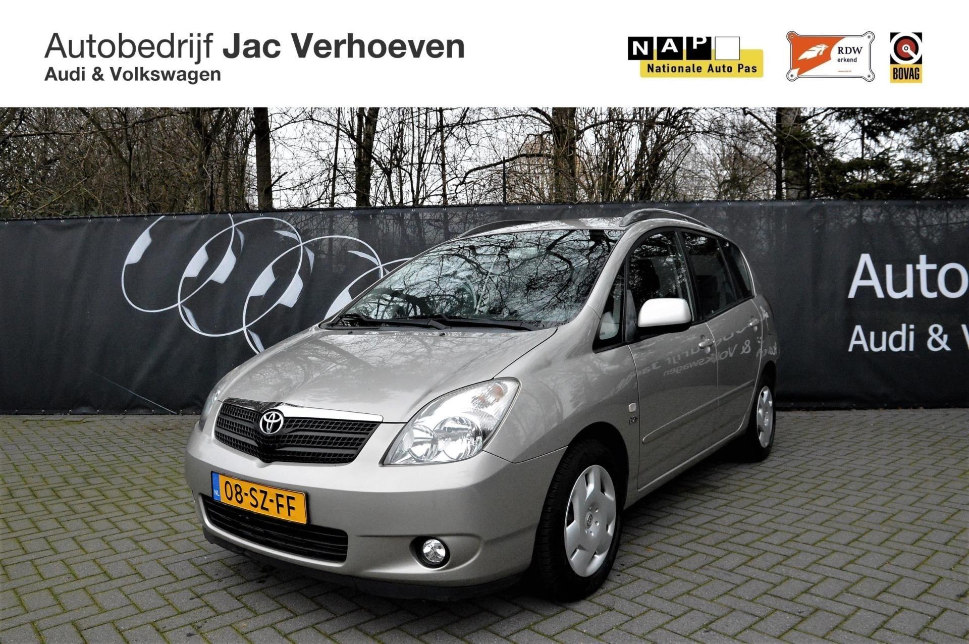 Toyota Corolla Verso occasion - Autobedrijf Jac Verhoeven