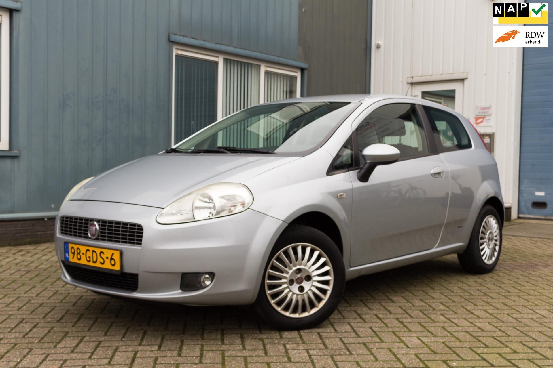 Fiat Grande Punto occasion - Autobedrijf Molenaar