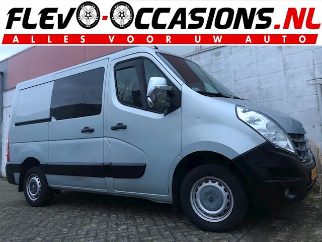Renault Master T28 2.3 dCi L1H2 DC Automaat NAP NWE APK Navi Airco Cruise Control Trekhaak