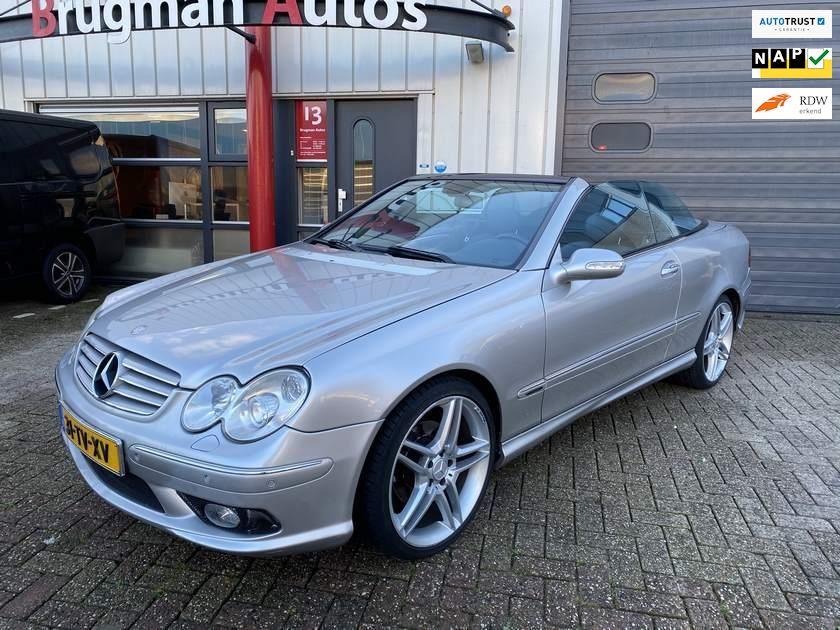 Mercedes-Benz CLK-klasse Cabrio occasion - Brugman Auto's