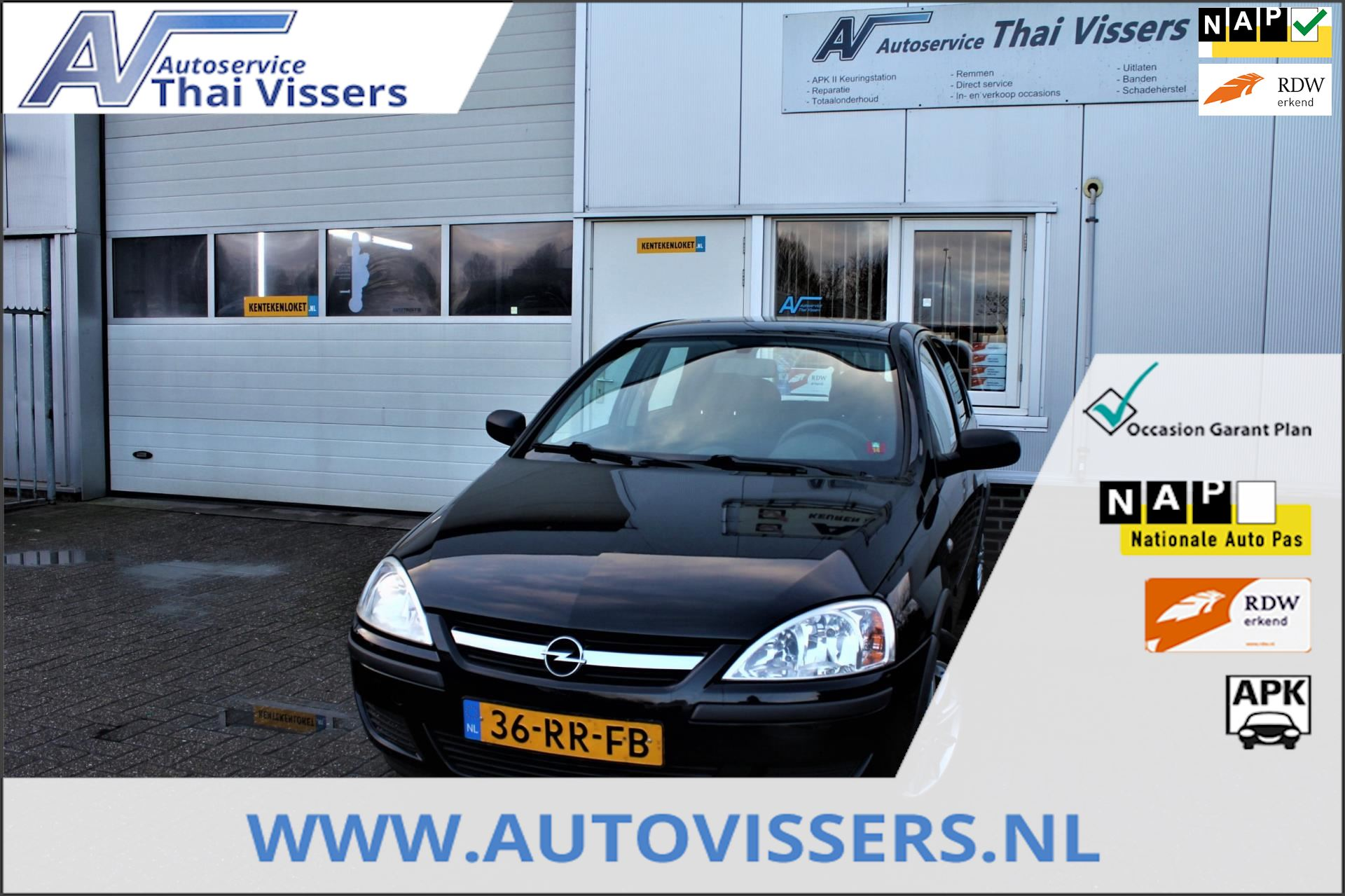 Opel Corsa occasion - Autoservice Thai Vissers