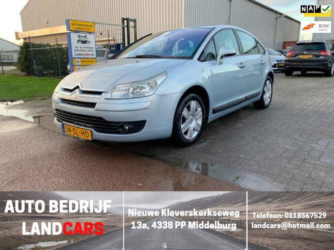 Citroen C4 occasion - Land Cars Middelburg