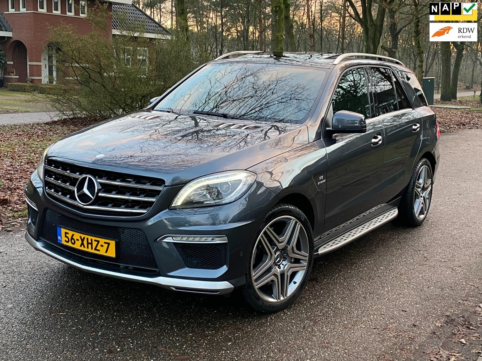 Mercedes-Benz M-klasse occasion - JP Vos Auto's