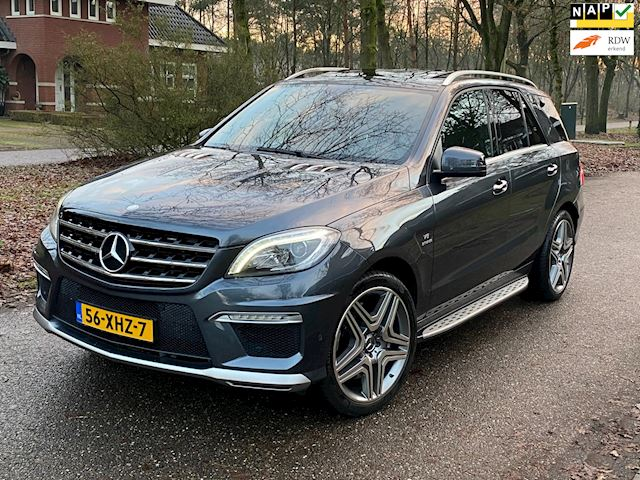 Mercedes-Benz M-klasse 63 AMG V8 BITURBO 525PK Full Options NL Geleverd
