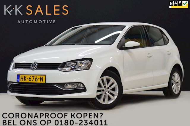 Volkswagen Polo 1.2 TSI Highline 90PK! 5-DRS [APPLE CARPLAY, NAVI, AIRCO, CRUISE, TEL., BLUETOOTH, ELEK VOOR EN ACHTR, NIEUWSTAAT]
