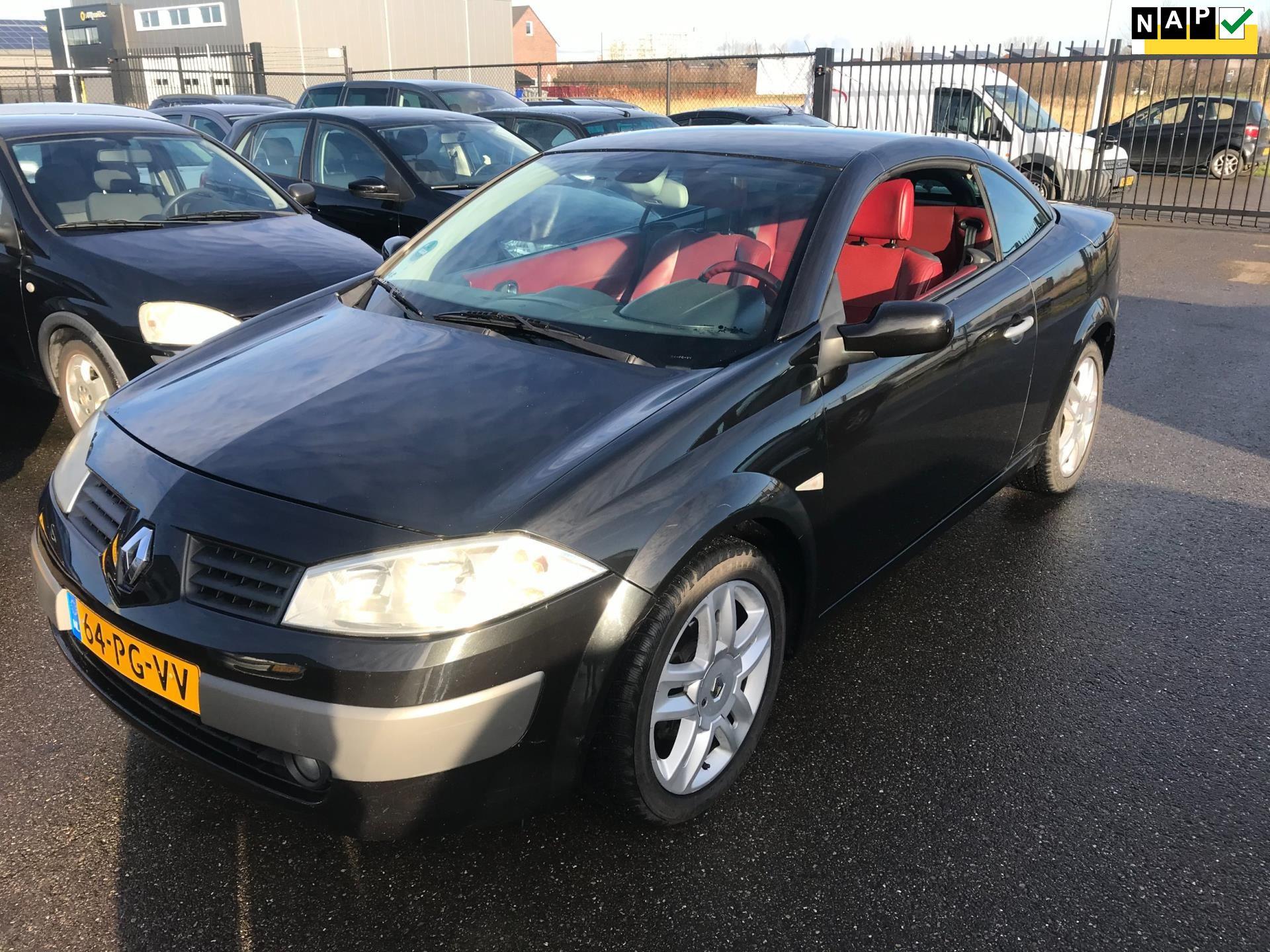 Renault Mégane coupé cabriolet occasion - Sonke Cars