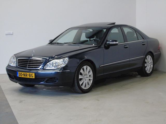 Mercedes-Benz S-klasse 350 Nieuwstaat Navi Softclose Xenon