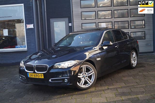 BMW 5-serie 520d Individual Edition  Schuifdak  Leer  N.A.P