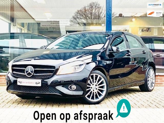 Mercedes-Benz A-klasse 180 Ambition 122PK! AMG/Navi/Stoelverwarming/MTF-stuur/18' LM! 1e eigenaar/Dealer OH/Topstaat!