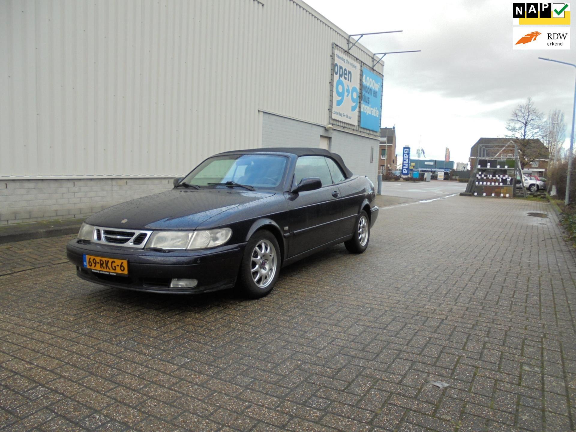Saab 9-3 Cabrio occasion - Autohandel Bakkali