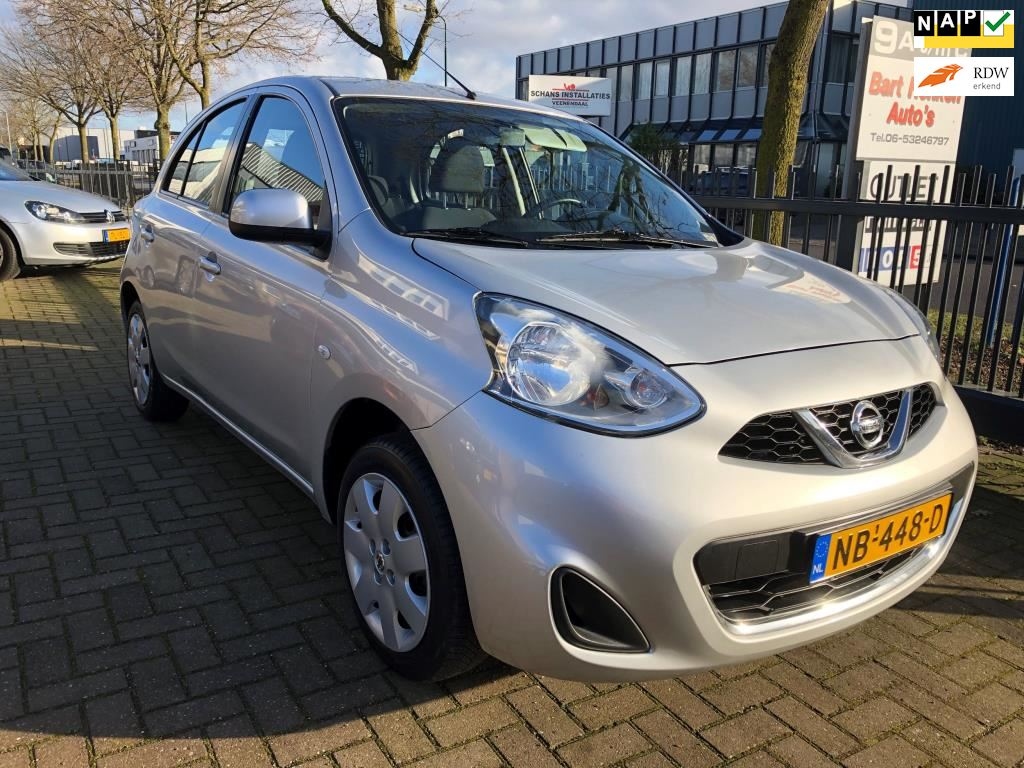 Nissan Micra occasion - Bart Henken Auto's Veenendaal