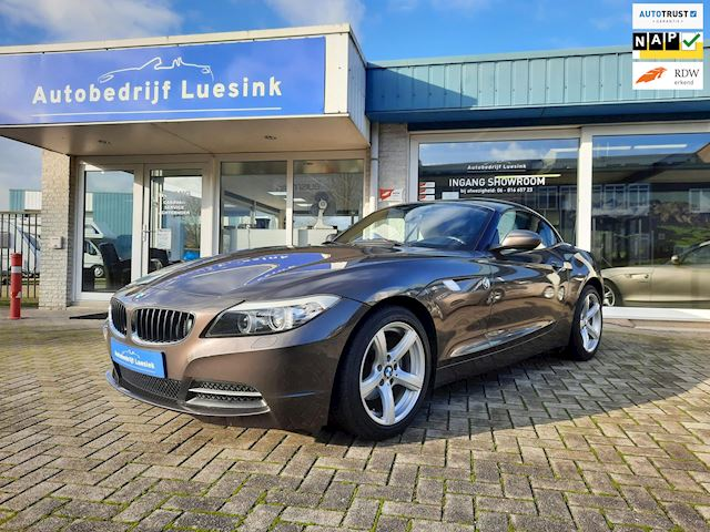 BMW Z4 Roadster SDrive23i Prachtige Roadster 66.681km Navigatie Design Pure White, Bluetooth, Sportstoel, -verwarming, Spraakbest.