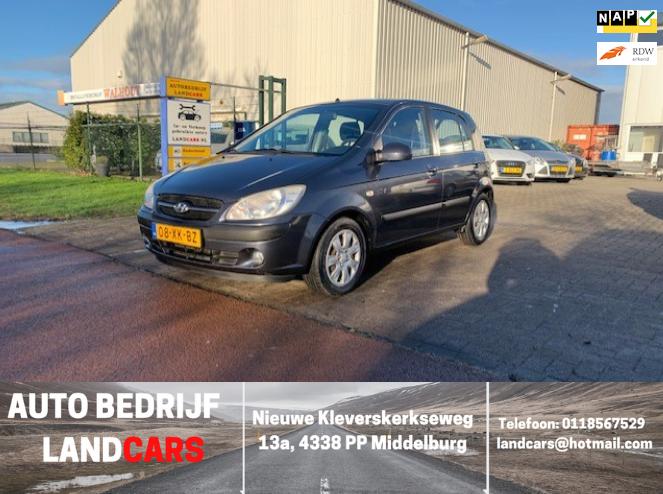 Hyundai Getz occasion - Land Cars Middelburg