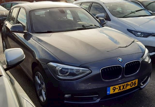 BMW 1-serie 116d High Executive Sportleder Navi 1e Eigenaar