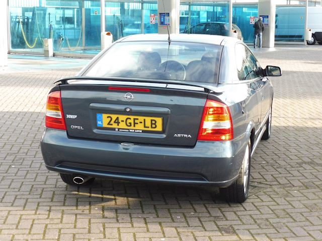 Opel Astra Coupé 1.8-16V/bj2000/VERKOCHT