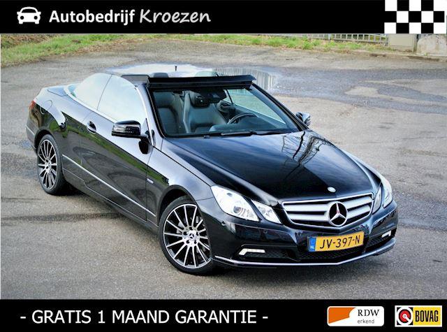 Mercedes-Benz E-klasse Cabrio 250 CGI Elegance * Automaat * Vol Leder *