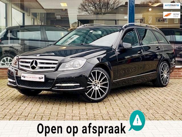 Mercedes-Benz C-klasse Estate 180 Avantgarde Edition AUT AMG/Navi/Cruise/Leder/LED/PDC/Airco ECC! 1e eigenaar/Nieuwstaat!