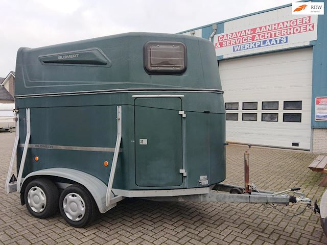 blomert DIAMANTI Nette Polyester 2-paards trailerzadelkamer occasion - Caravan Service Achterhoek