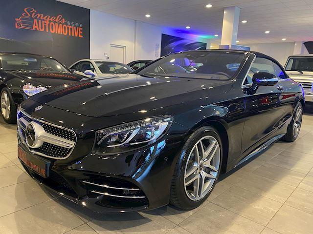 Mercedes-Benz S-klasse Cabrio 560 Premium Plus. AMG line. BJ. 08-2018. Incl. BTW en BPM. 3.000 KM!! Alle opties