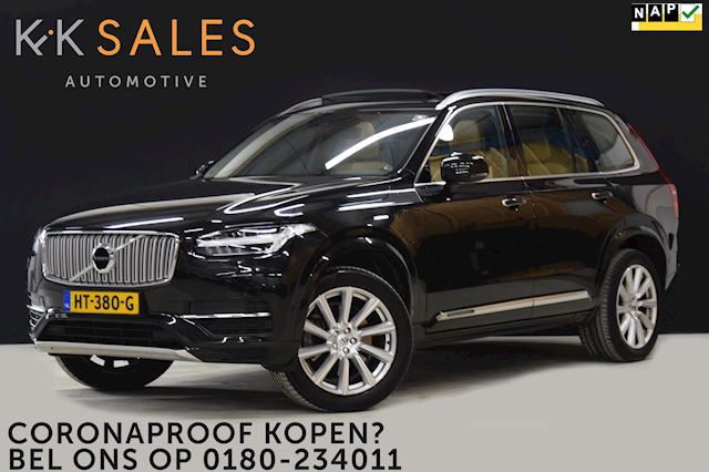 Volvo XC90 2.0 T8 Twin Engine AWD Inscription EX BTW [PANODAK, VOL LEDER, AUT UIT/ INPARKEREN, NIEUWSTAAT]