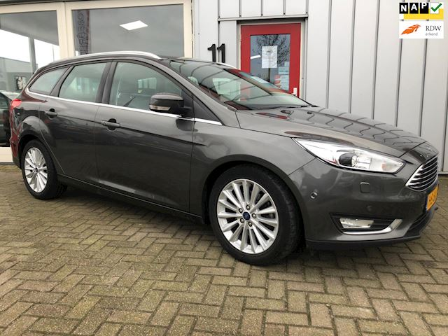 Ford Focus Wagon 2.0 TDCI Titanium Edition Leer/Trekhaak/Navigatie