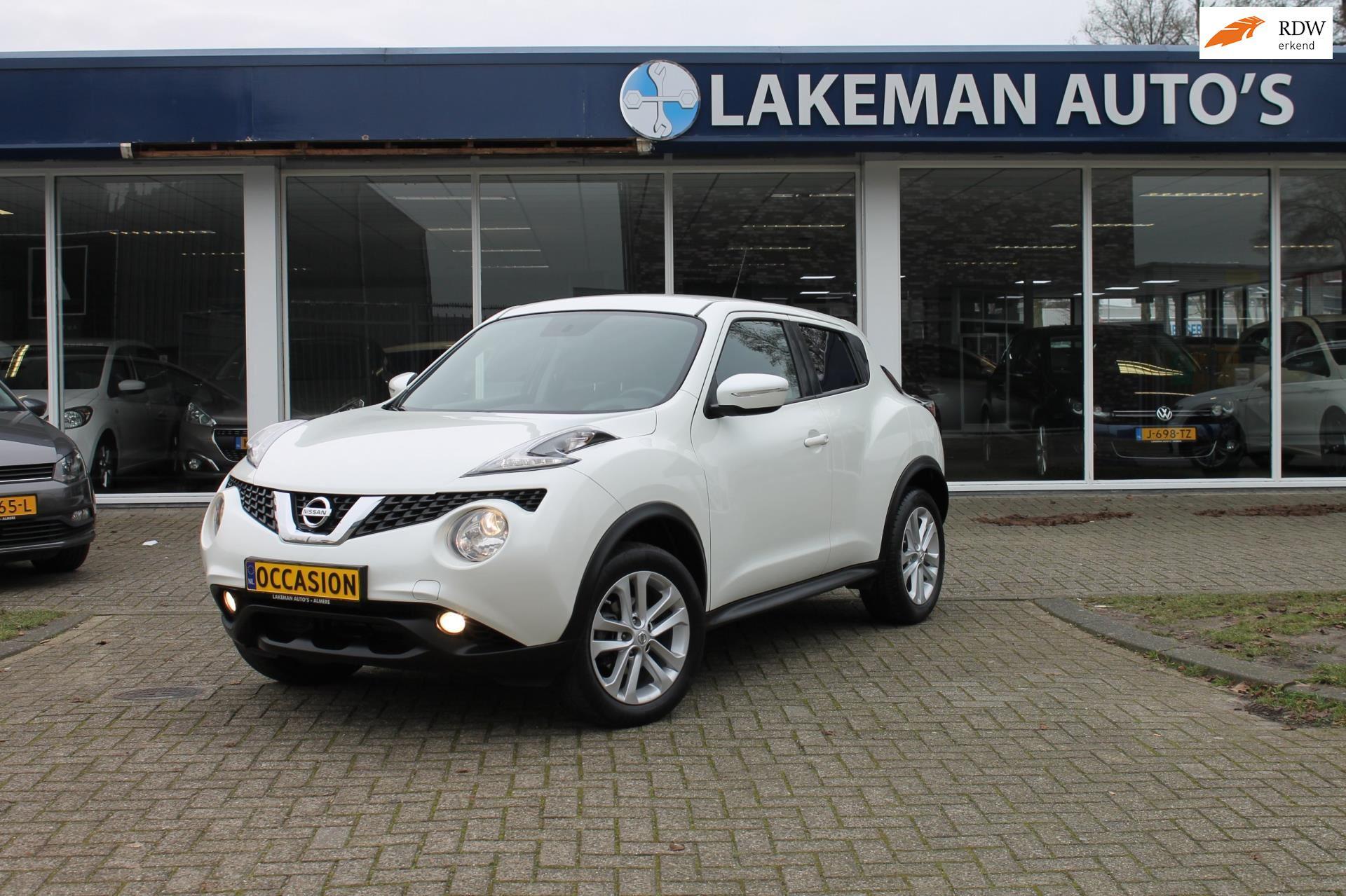 Nissan Juke occasion - Lakeman auto's Almere B.V.