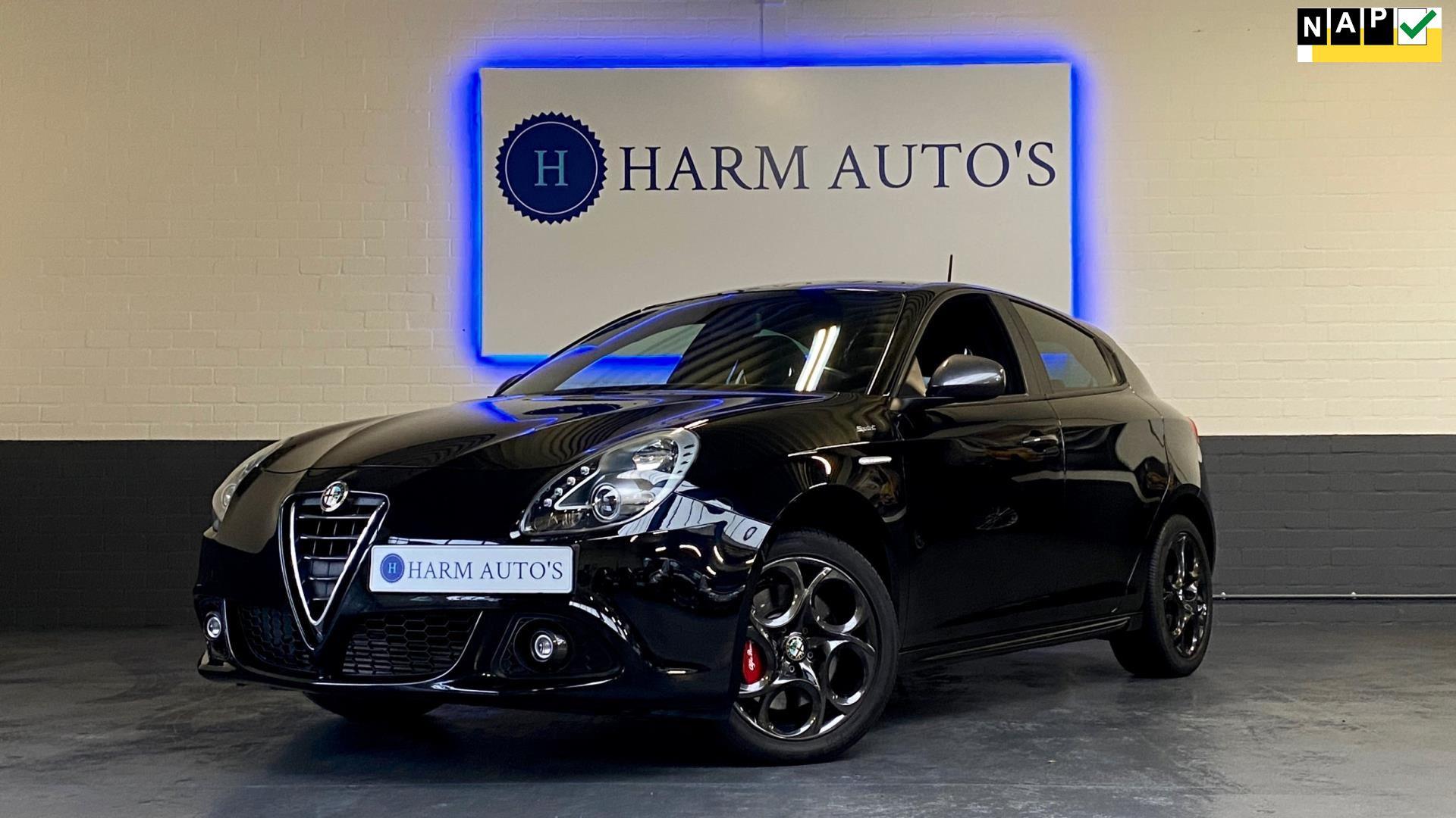 Alfa Romeo Giulietta occasion - Harm Auto's
